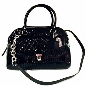 Coach Liquid Poppy Satchel